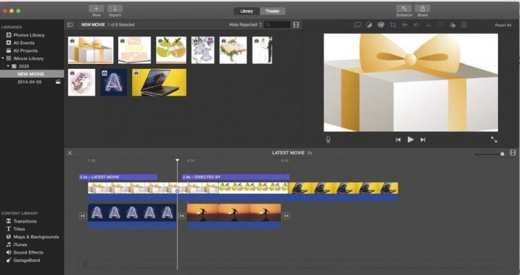 Addis Mart Video Edition iMovie