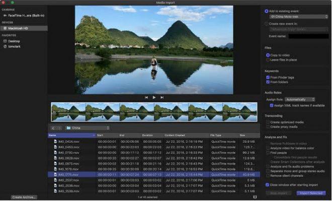 Addis Mart Final Cut Pro X editing Add Media